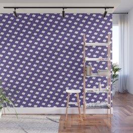 Ultraviolet Grid Wall Mural