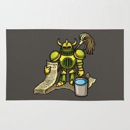 Bucket Knight Rug