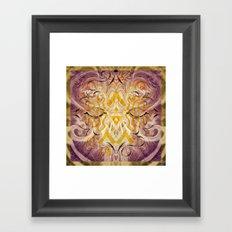 Transcendent Square Framed Art Print