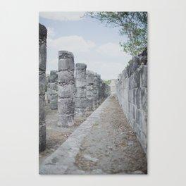A Thousand Columns  Canvas Print