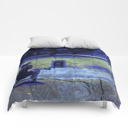 Just Cruisin'  - Skateboarder Comforters