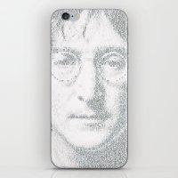 imagine iPhone & iPod Skins featuring Imagine by Robotic Ewe
