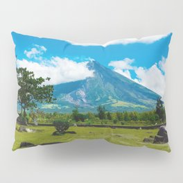 Mayon Volcano Pillow Sham
