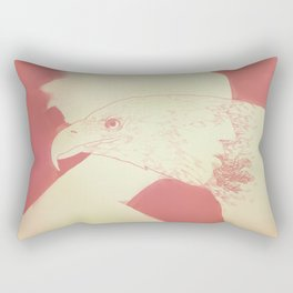 """Once I Was an Eagle"" by Justin Hopkins Rectangular Pillow"