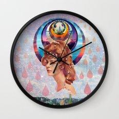Teardrops Wall Clock