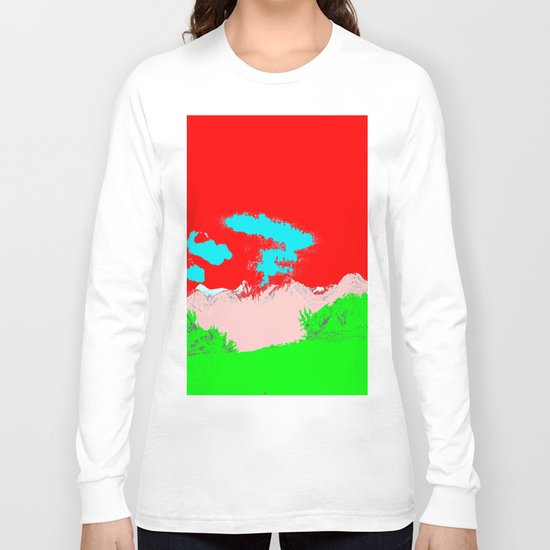Ice Cream Mountain Long Sleeve T-shirt