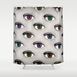 I ONLY HAVE EYES FOR YOU Shower Curtain