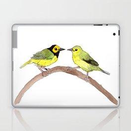bird Hooded Warbler  Laptop & iPad Skin