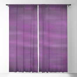 Abstract Watercolor Blend 12 Black, Gray and Purple Graphic Design Blackout Curtain