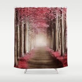Perfect morning. Shower Curtain