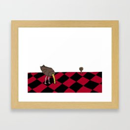 Painful Truth Framed Art Print