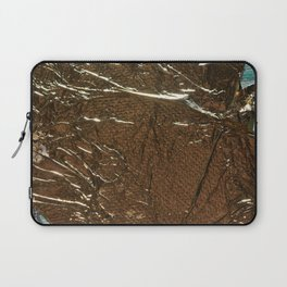 Golden Wrinkles Laptop Sleeve