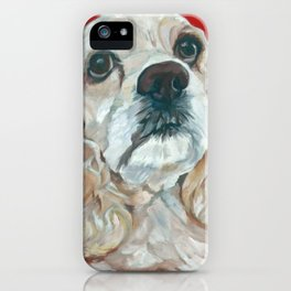 Lola the Cocker Spaniel iPhone Case