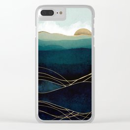Indigo Waters Clear iPhone Case