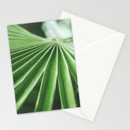 Green Palm Tropical Plant Stationery Cards