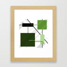 Angular Energy Framed Art Print