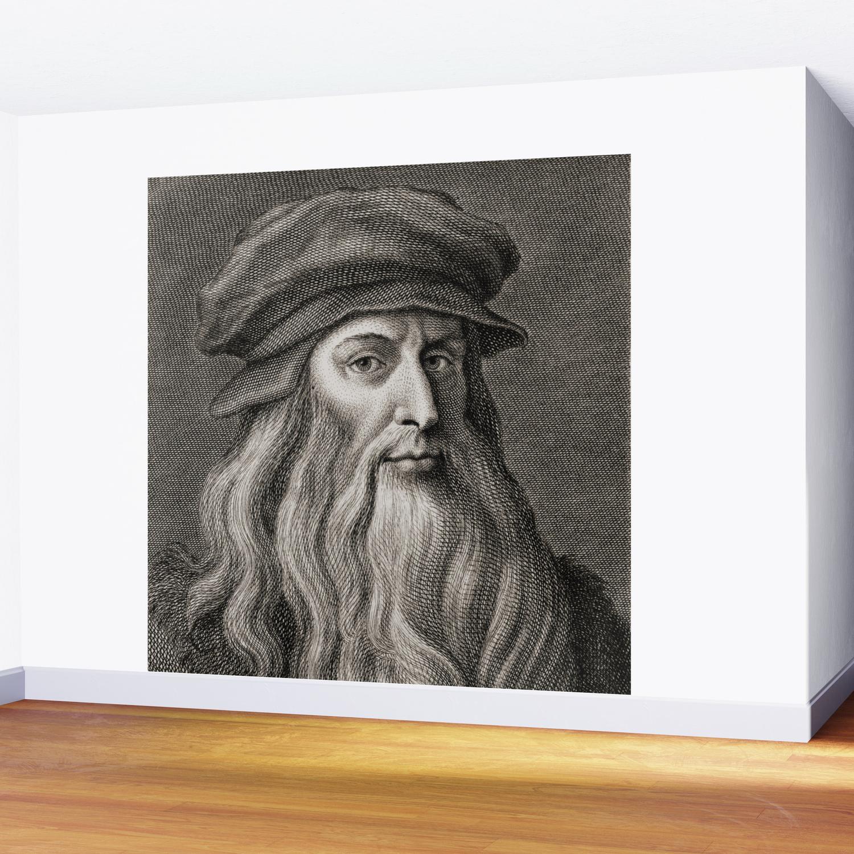 Leonardo Da Vinci Wall Mural