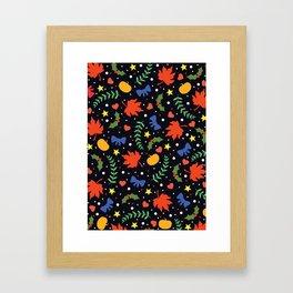Holiday Season Framed Art Print