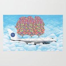 Happy Plane Rug