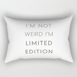 I'm Limited Edition Rectangular Pillow