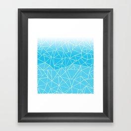 Ab Half And Half Electric Framed Art Print