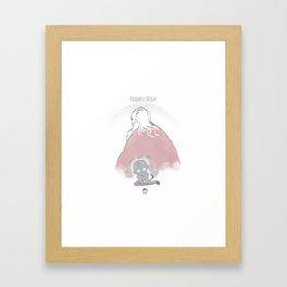 Krampus Night Framed Art Print
