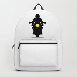 Motorcycle Silhouette Backpack