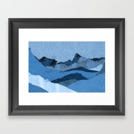 Mountain X Framed Art Print