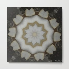 Peddle Ivory Metal Print