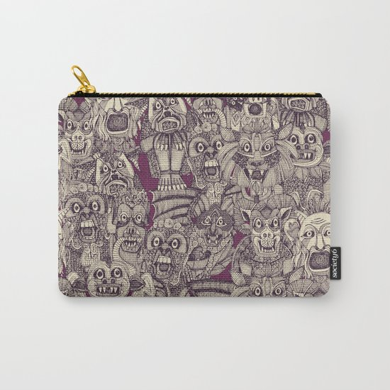 gargoyles purple Carry-All Pouch
