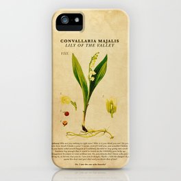 Breaking Bad - Lily of the Valley iPhone Case