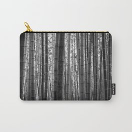 Bamboo Monochrome Carry-All Pouch