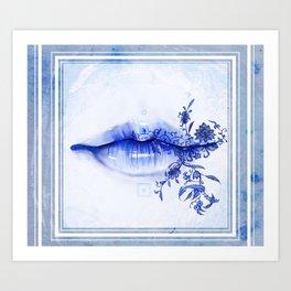 Porcelain Lolita Art Print