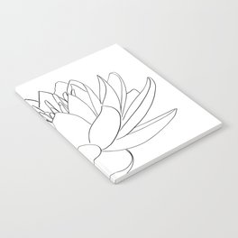 water lily Notebook