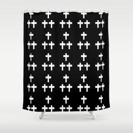 Christian Cross 1 Shower Curtain
