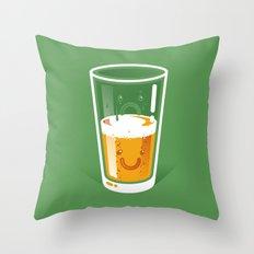 Pessimistic Optimist Throw Pillow