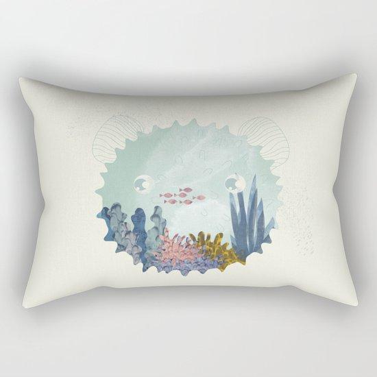 balloon fish Rectangular Pillow