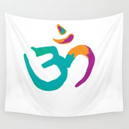Colorful Om Wall Tapestry