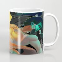 avatar Mugs featuring Avatar by Andrea Montano