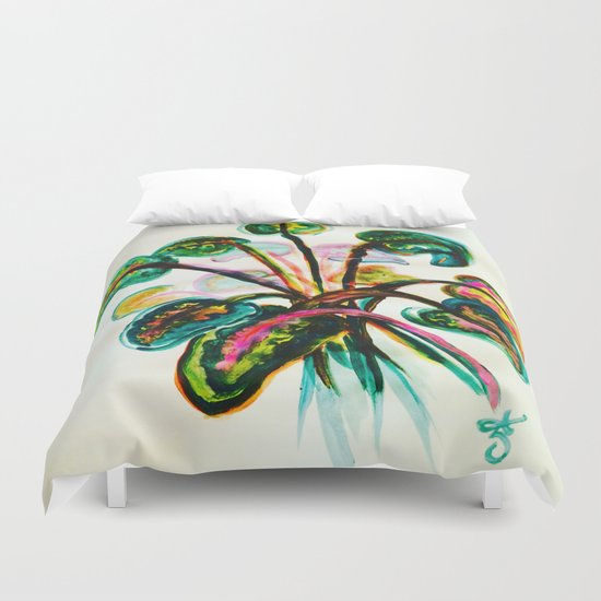 A Bouquet of Leaves  Duvet Cover