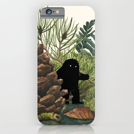 Tiny Sasquatch iPhone Case