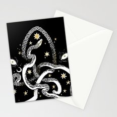 Star Serpent Stationery Cards