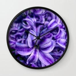 Hyacinth Wall Clock