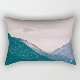 Across the Valleys Rectangular Pillow