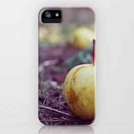 Fallen Apple iPhone Case