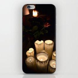melting candles iPhone Skin