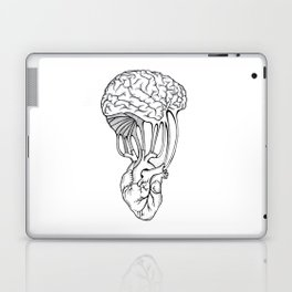 Mind and spirit connection Laptop & iPad Skin