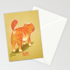 Nope. Stationery Cards