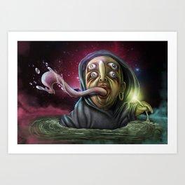 FrogLord Art Print