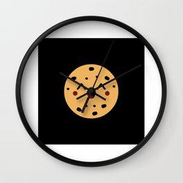 Kawaii Lucky Biscuit Gift Idea Design Motif Wall Clock